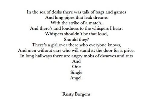 Rustys Poem About Kate If Someone Wrote This For Me I Might