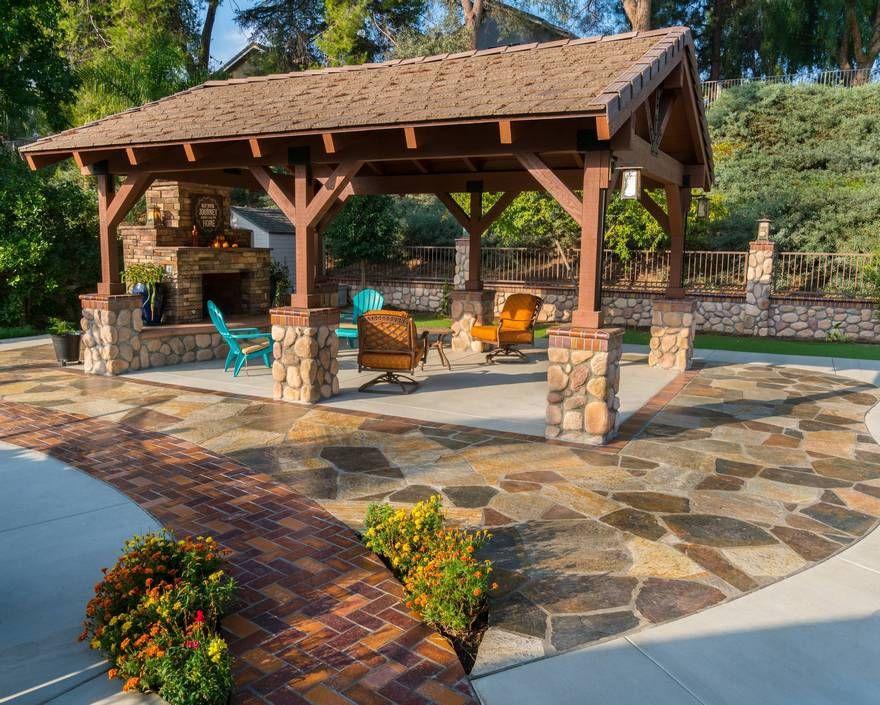 Rustic Outdoor and Patio Design Ideas Pergola Gazebos