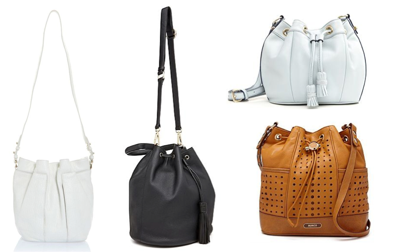 bucket bags spring summer 2014 on girl for granted