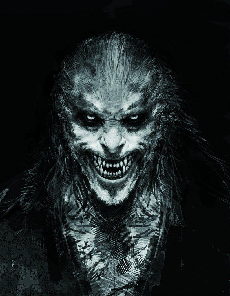 Harry Potter S Original Concept Art Might Give You Nightmares Kreatur Konzeptkunst Werwolf Dunkle Kunst