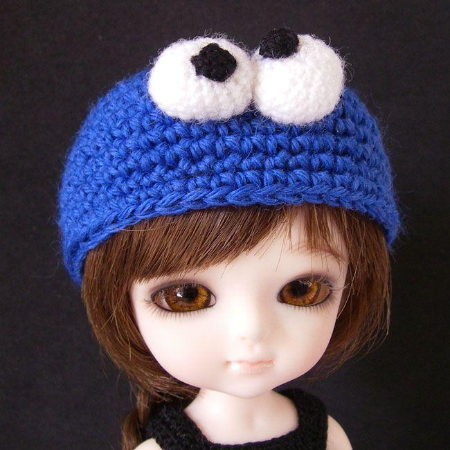 Crocheted amigurumi hat for all Lati Yellow dolls | DIY | Pinterest ...
