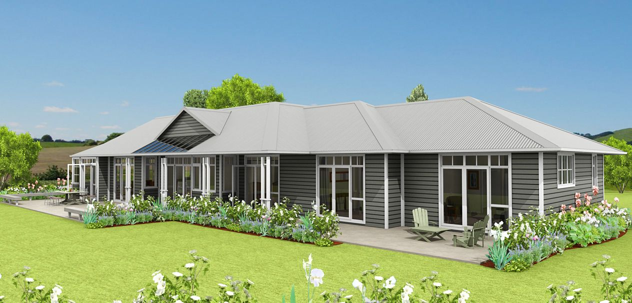 A fabulous country style home the sheffield features for Weatherboard house designs