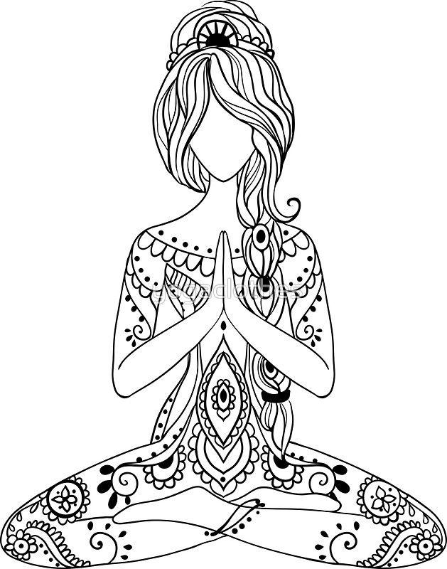 Yoga Om Chakras Mindfulness Meditation Zen 3 Sticker By