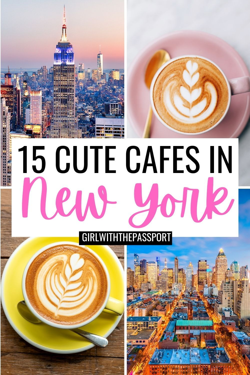 Best Coffee Nyc 15 Best Coffee Shops Nyc Nyc Travel Guide New York City Travel New York City Vacation
