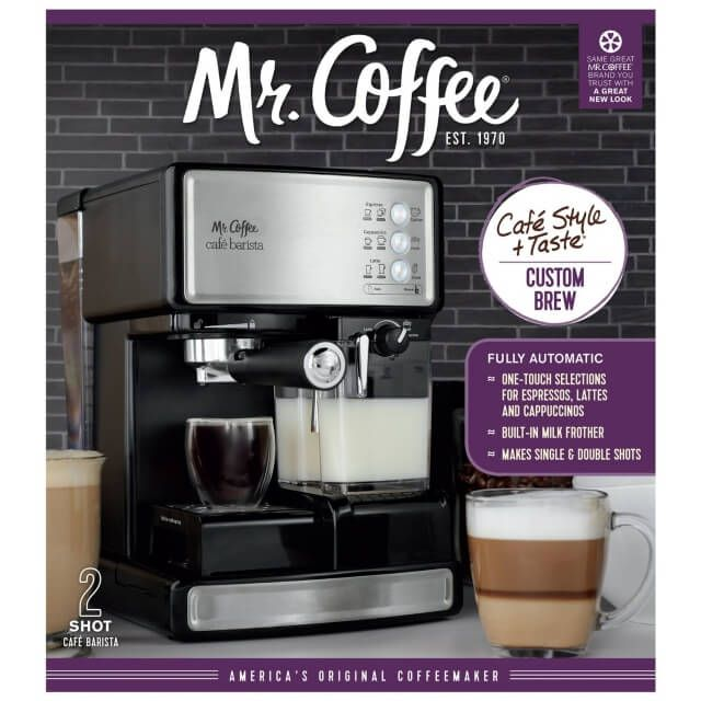 Mr Coffee Cafe Barista Review And Giveaway
