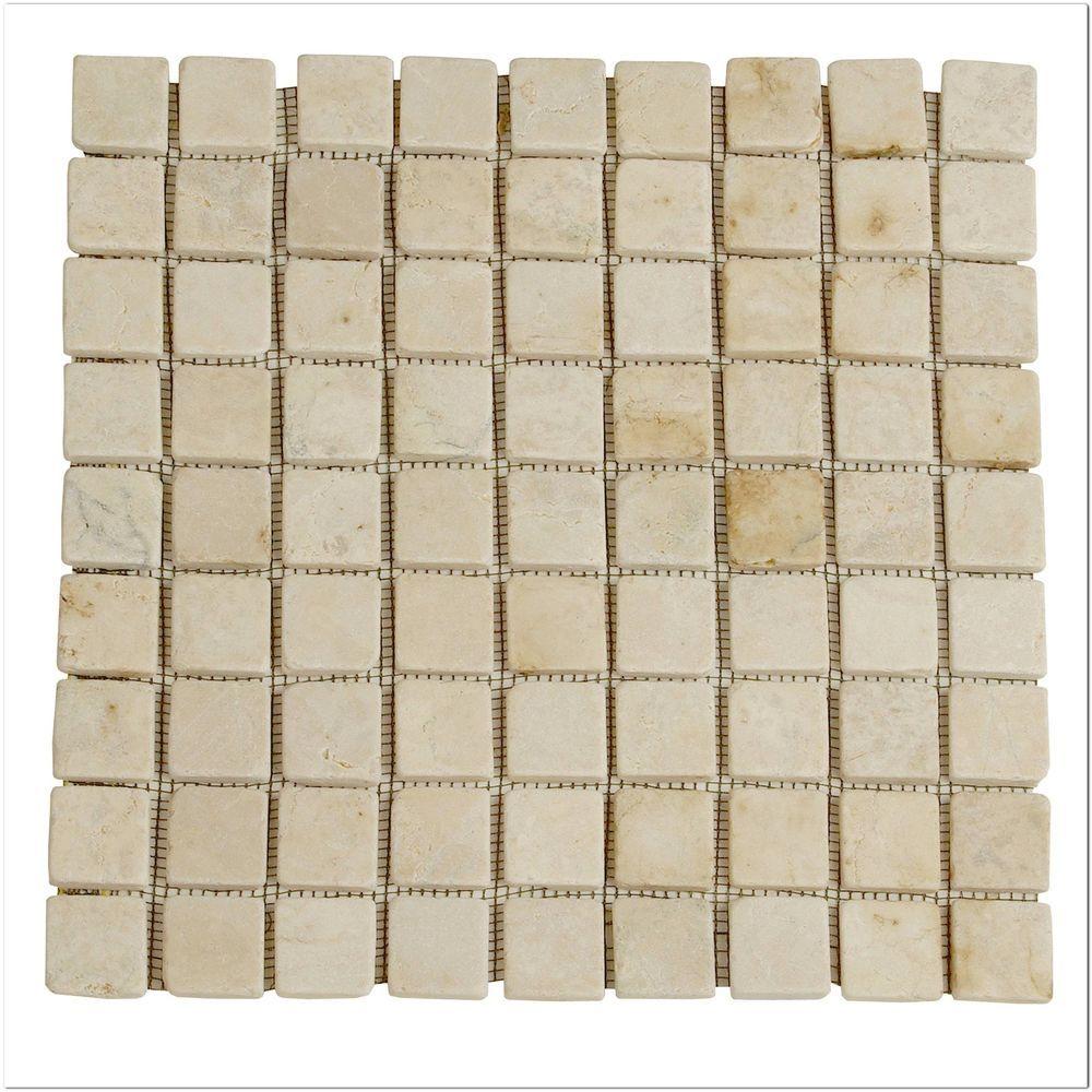 divero 1 matte 30x30cm marmor stein mosaik fliesen wand boden