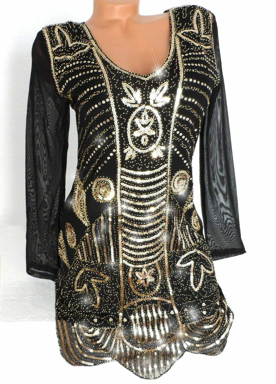 glamouröses abendkleid glitzer pailletten kleid partykleid