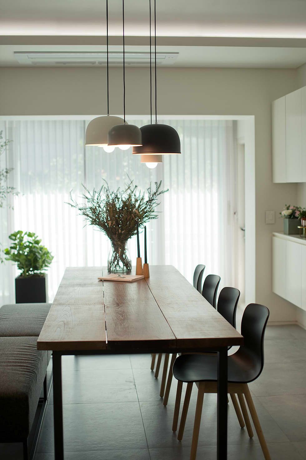Less is more also modern dining room minimalist  table new rh pinterest
