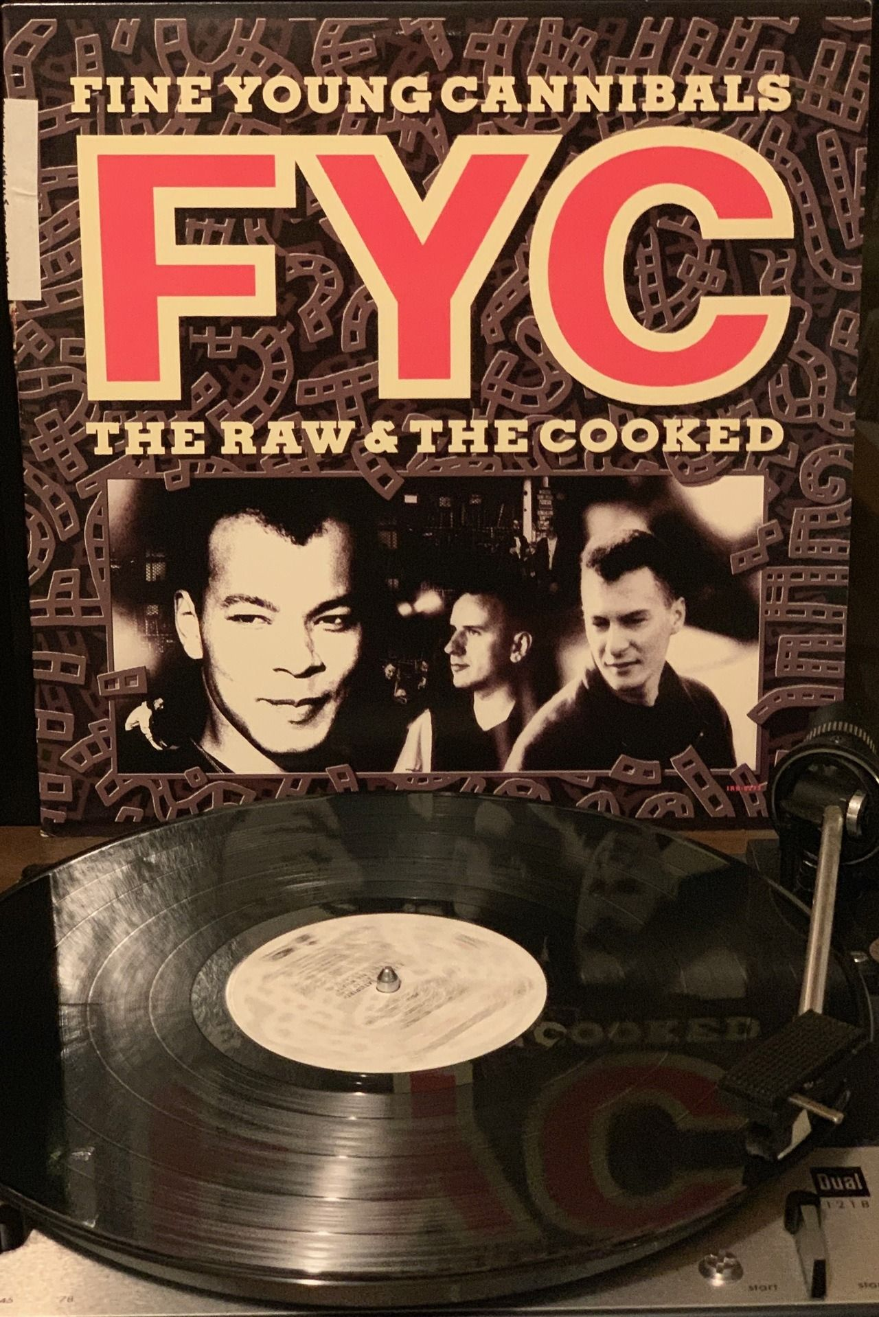 Fine Young Cannibals The Raw The Cooked 1989 Fyc S Second And Final Lp A Mix Of New Wave Pop Soul And Dance Mu Dance Music Album Of The Year Wave Dance