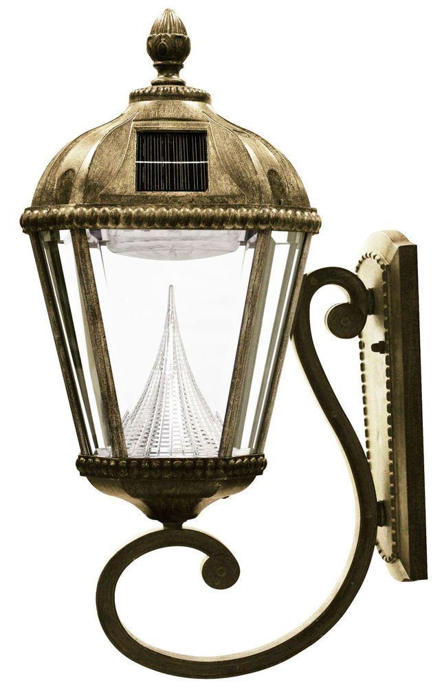 Refurbished gama sonic royal solar lamp wall mount bronze sconce led refurbished gama sonic royal solar lamp wall mount bronze sconce led porch 98w gamasonic aloadofball Images