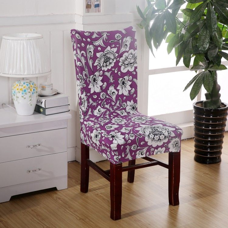 aliexpresscom buy dining room decoration jacquard chair covers spandex fabric machine washable hotel