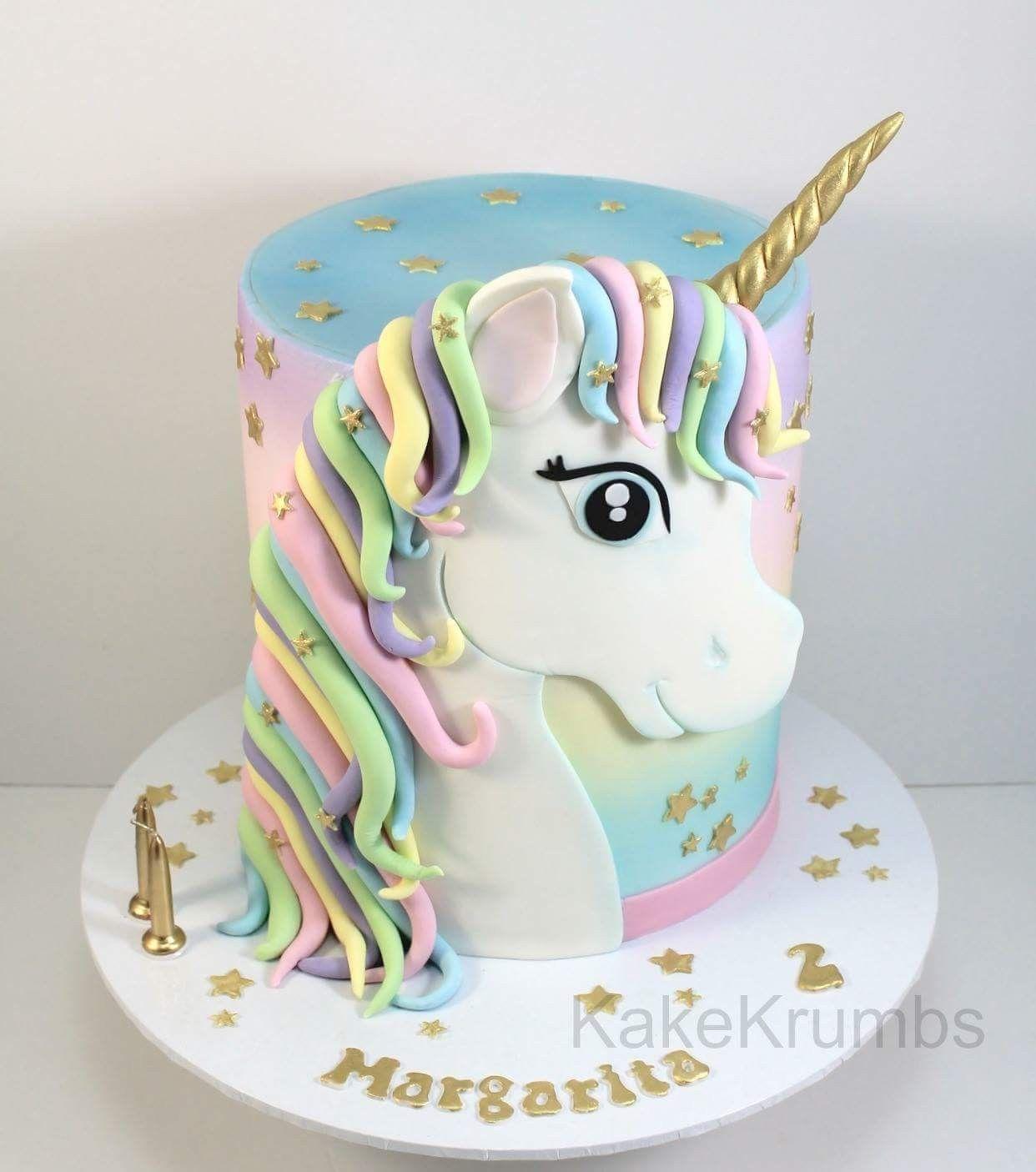 Unicorn cake | Unicorn birthday in 2019 | Pony cake, Cupcake