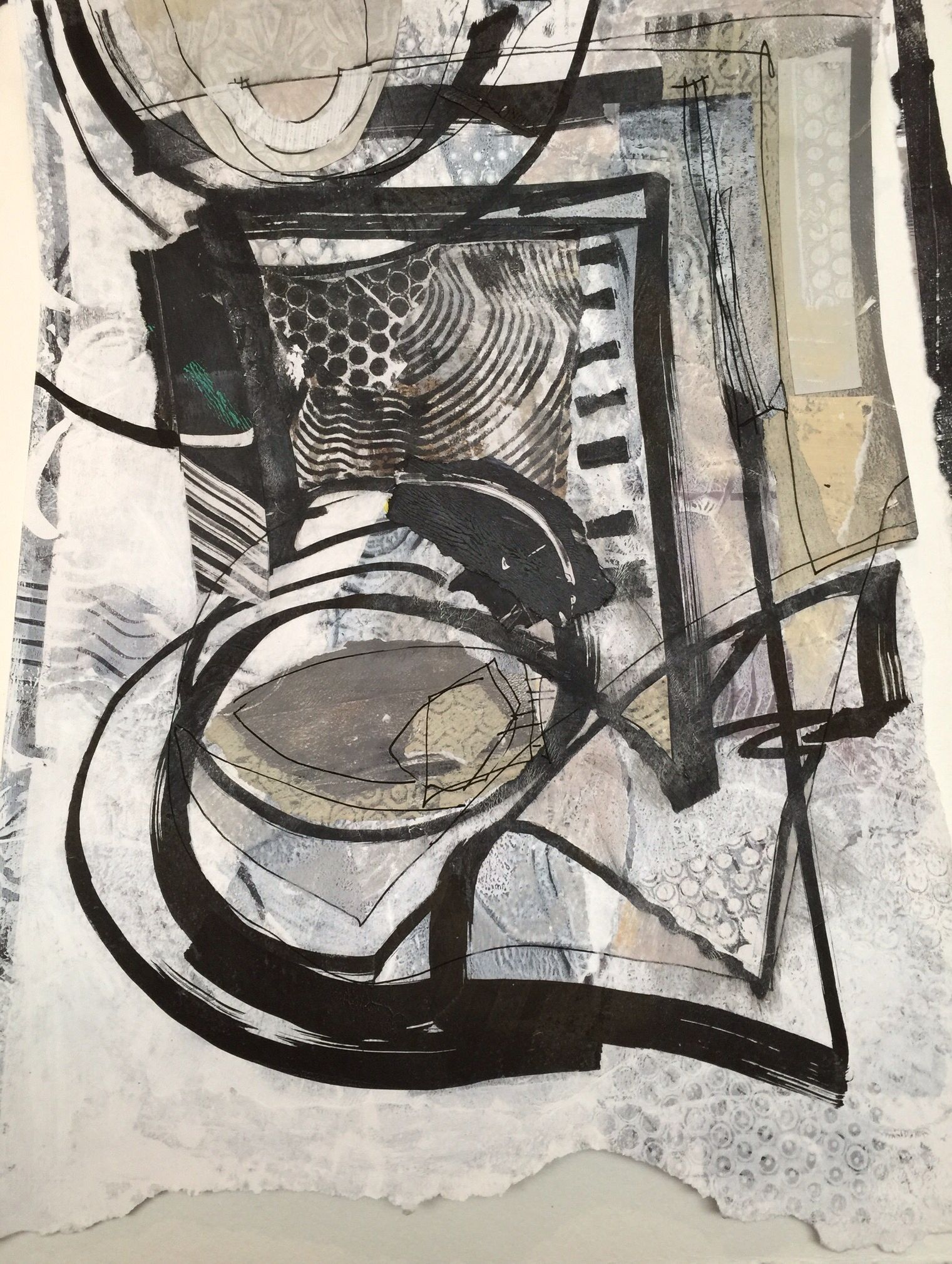 Dorothy Ganek: Collage 12x18