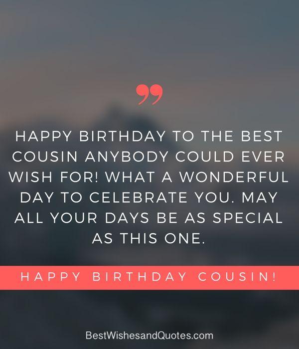Happy Birthday Cousin Quotes Cousin Birthday Quotes Happy Birthday Cousin Cousin Quotes