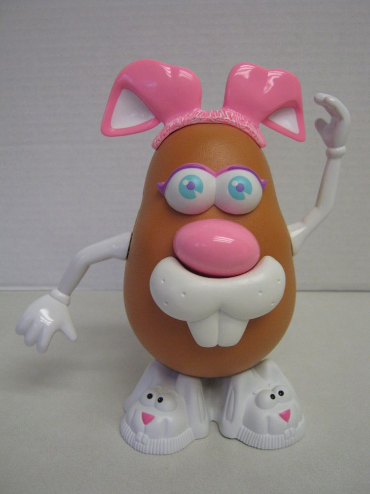 Mr Potato Head Easter Bunny Pink Spud Hasbro Playskool