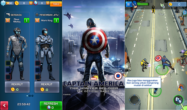 Captain America: The Winter Soldier (for Android)