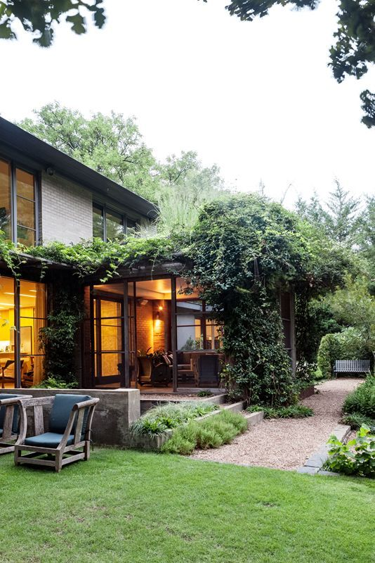 Inside and Out in Lakewood - David Rolston Design. | Garden Design ...