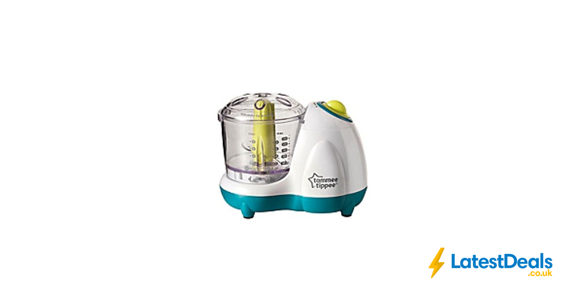 Tommee Tippee Explora Baby Food Blender FREE UK DELIVERY