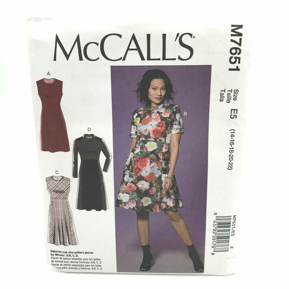 Shorts in 2 Styles Easy Sew Size Simplicity 1165 Misses Slim Pull-On Pants 14-16-18-20-22 R5