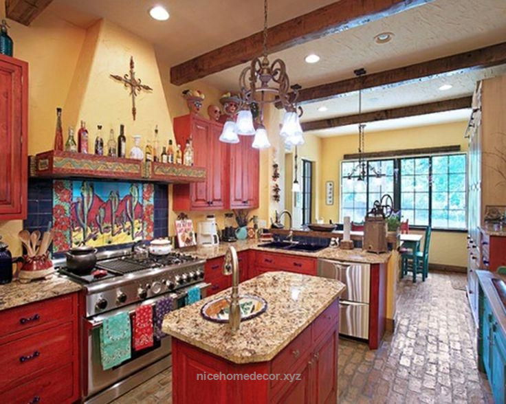 Lovely Rustic Mexican Kitchen Design Ideas Mexican Style Home Decor The Post Rust Mexican Style Kitchens Mexican Kitchen Decor Kitchen Decor Mexican Style