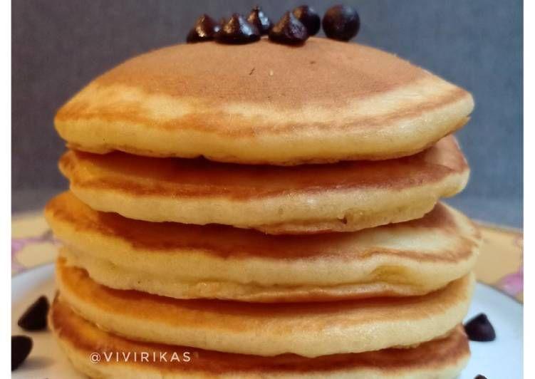 Cara Membuat Pancake Mudah Hanya Menggunakan 3 Bahan Makanan Resep Masakan