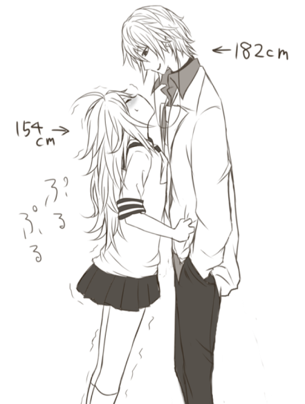 Cute to see short girls with tall boyfriends makes for cute to see short girls with tall boyfriends makes for interesting romantic moments cute anime couplesanime altavistaventures