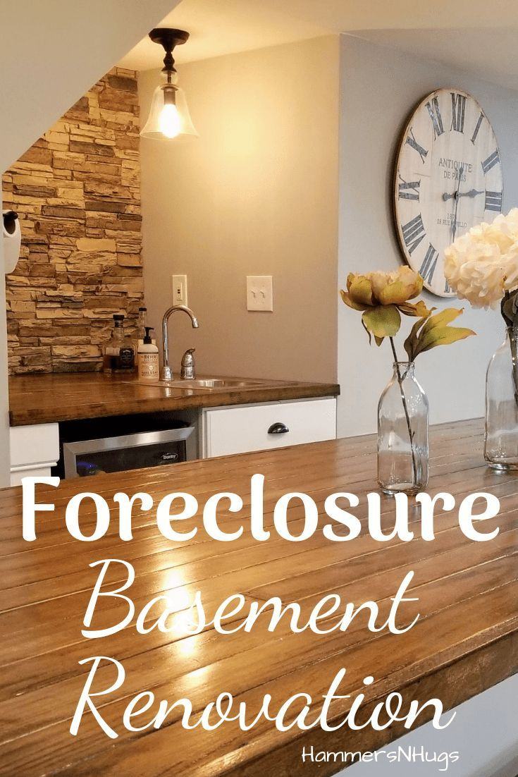 Forclosure Remodel: Colonial Foreclosure Basement Renovation