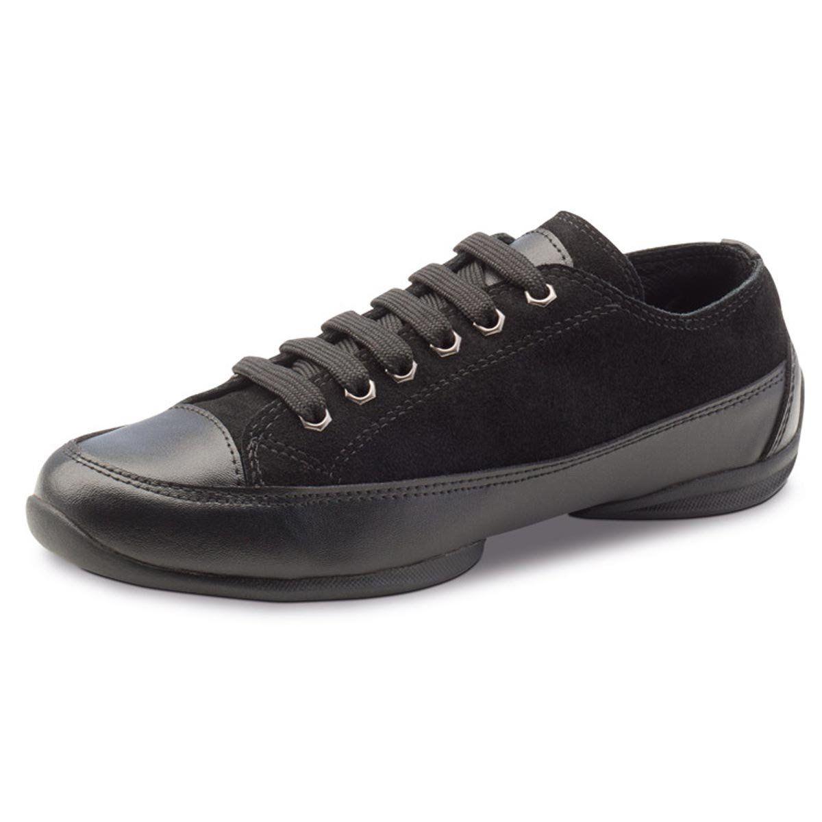 Anna Kern Damen Dance Sneakers 100 15 Leder Schwarz