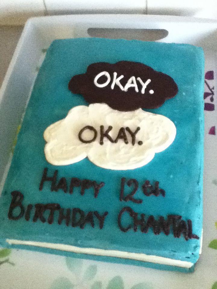 OMG MY BESTIES BDAY CAKE