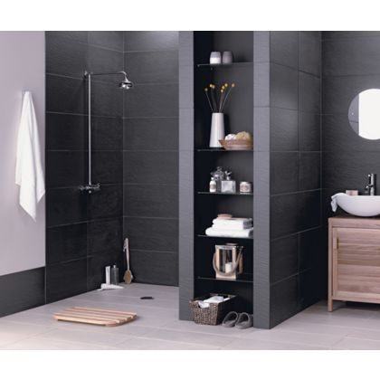Storm Porcelain Black Wall And Floor Tiles A Sleek And Modern