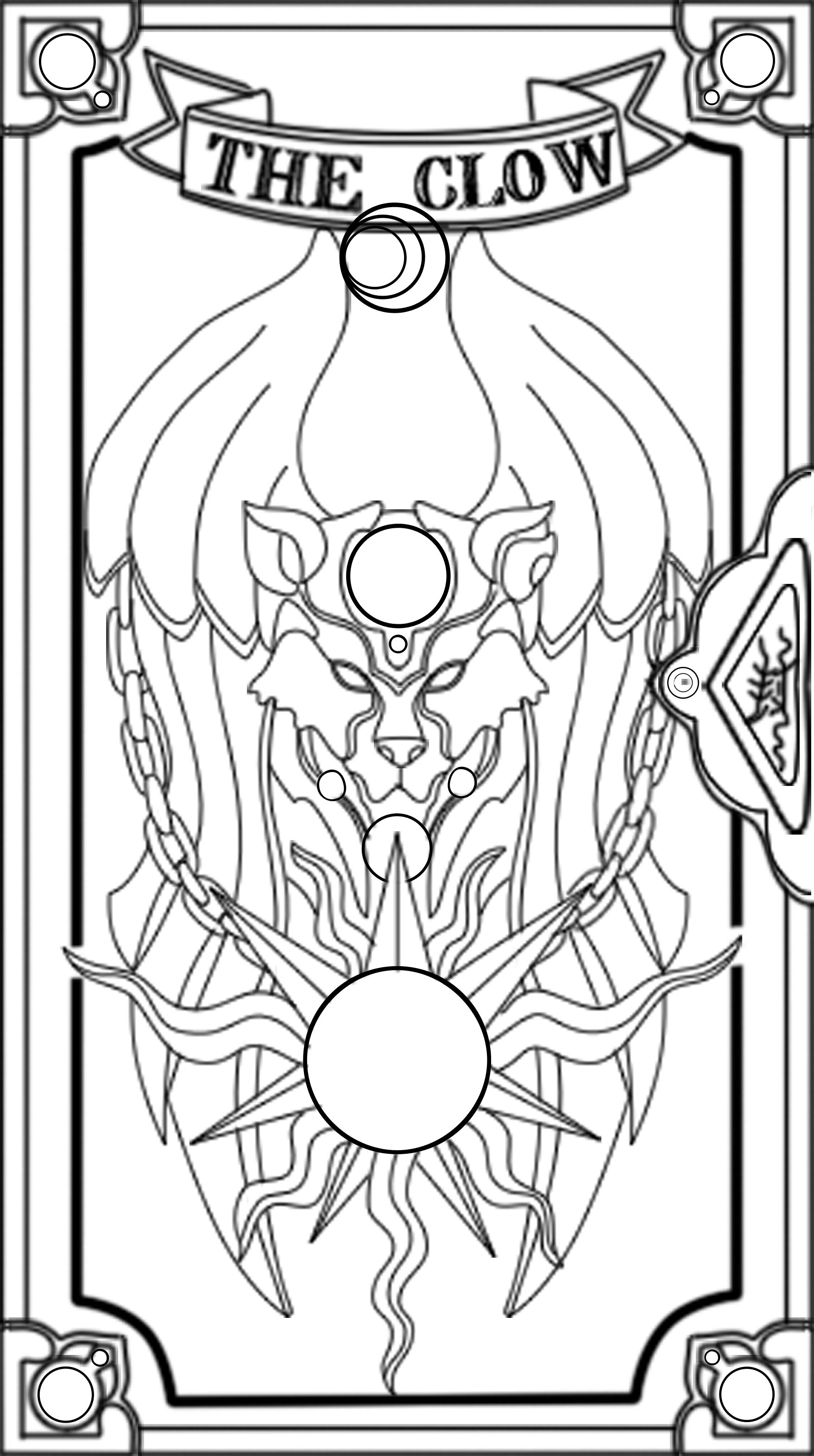 card captor coloring pages - photo#33