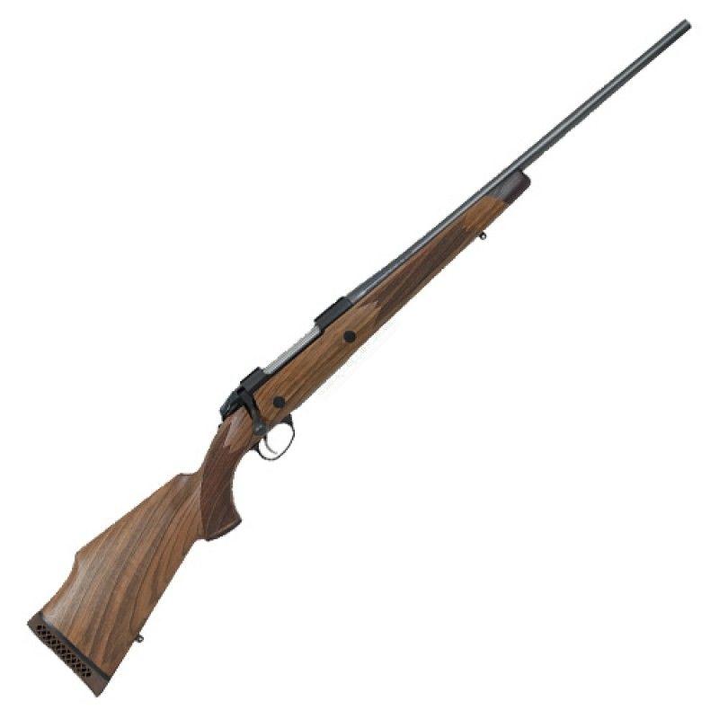 The Sako 85 FINN BEAR 30-06 bolt action rifle features a Walnut stock with raised cheekpiece.