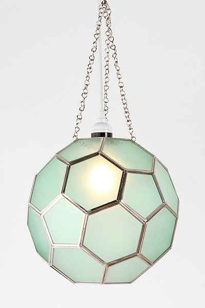 Honeycomb Glass Pendant - Urban Outfitters