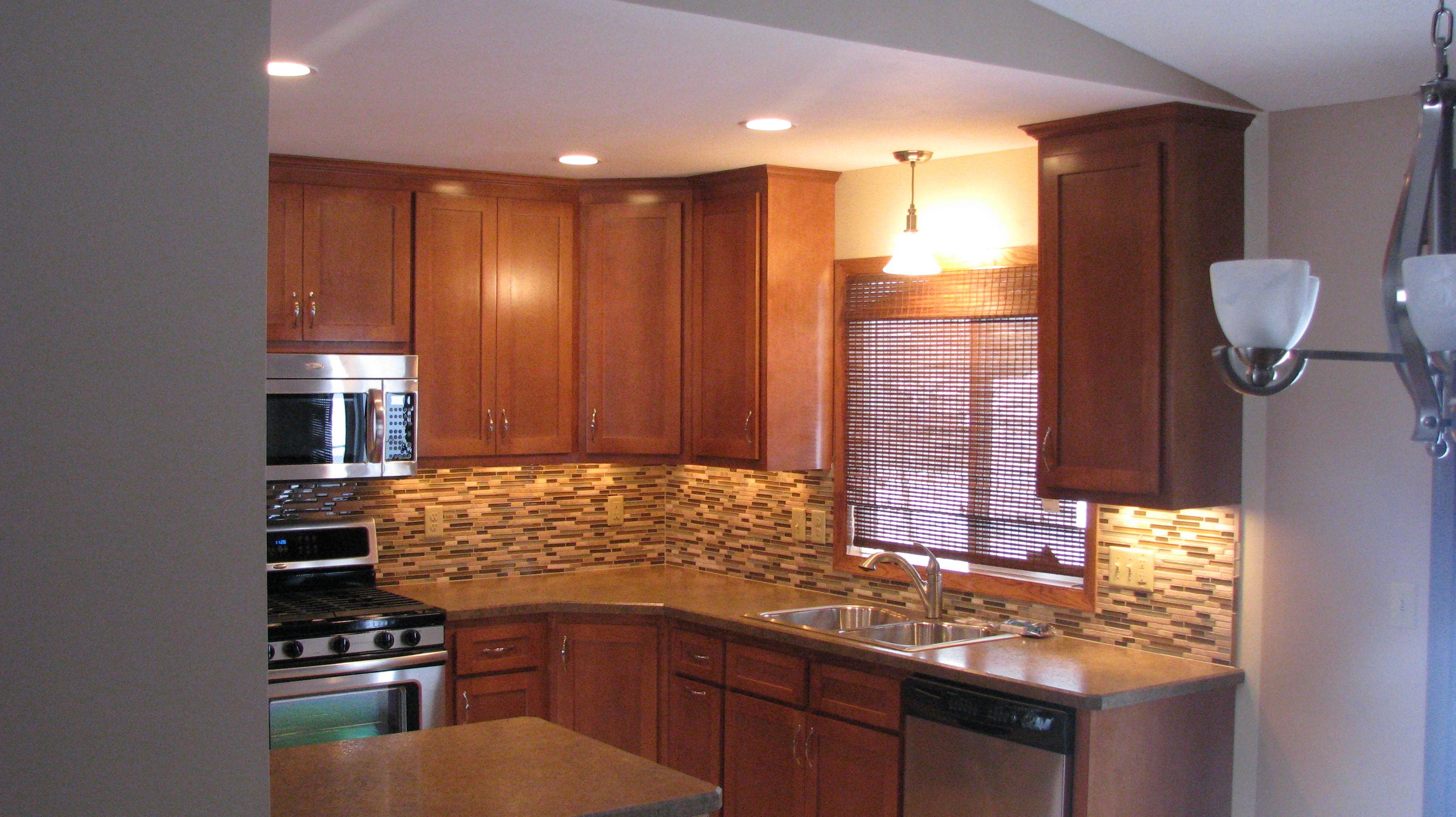 Split entry kitchen remodel remodeling kitchen for Kitchen renovation images