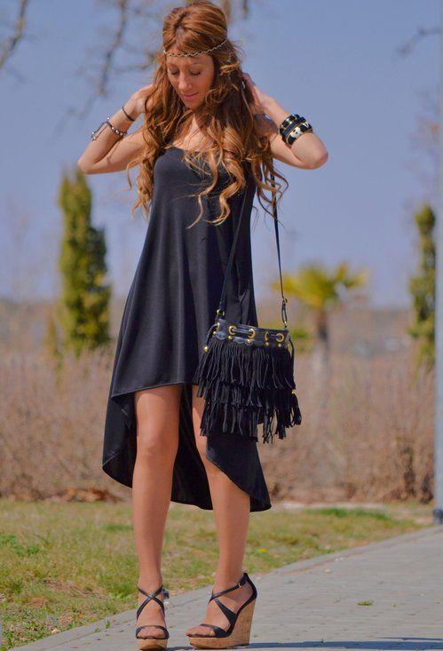BACK TO BLACK , Zara (new collection) en Vestidos ...