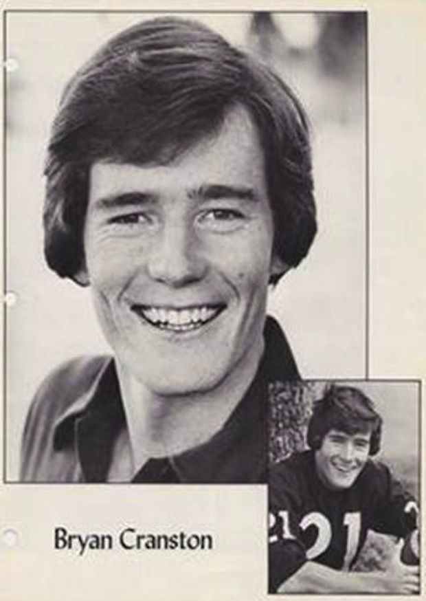 Take A Look At Bryan Cranston S High School Yearbook Photos