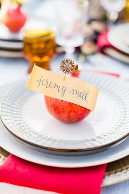 Vintage Pin and Scrolled Paper Name  — Katie Michelle Designs | Central Oregon Calligraphy & Design