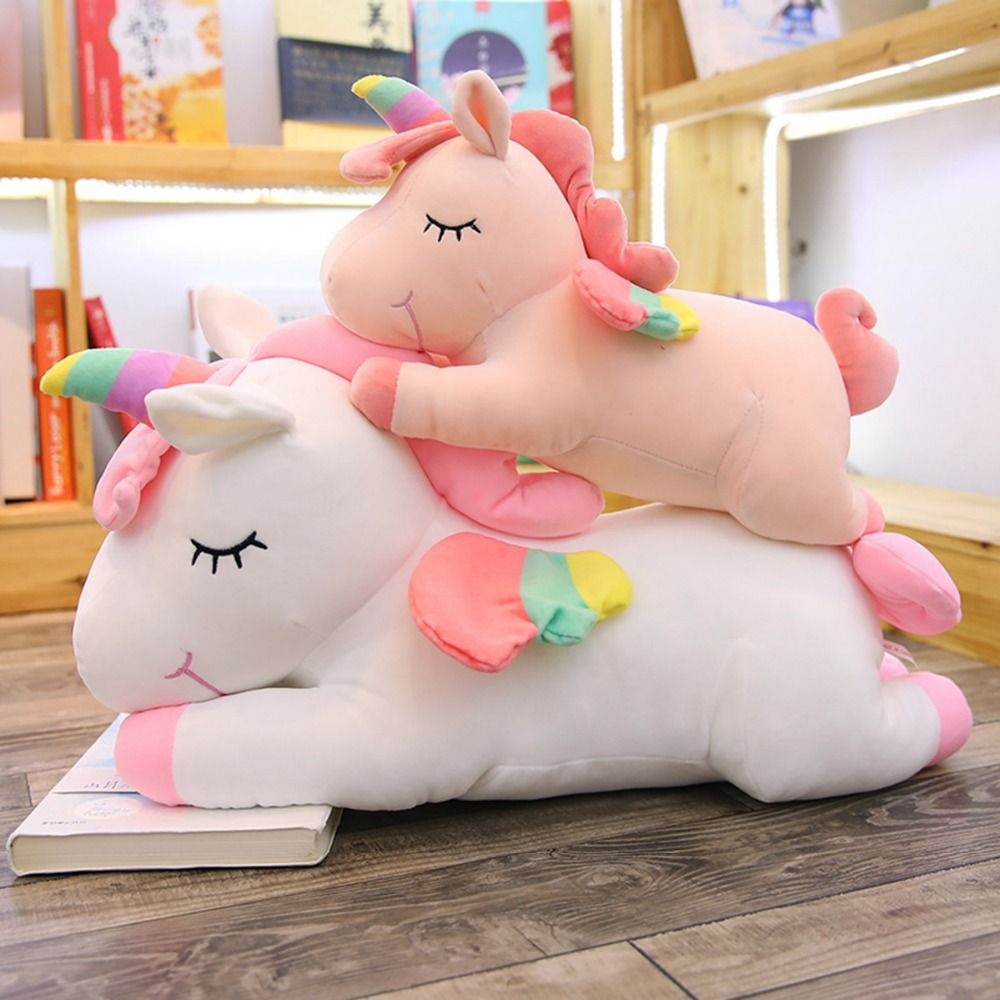 Rainbow Unicorn Plush Toy Unicorn Toys Unicorn Plush Unicorn Pillow [ 1000 x 1000 Pixel ]