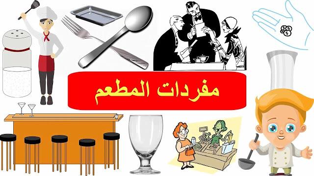تعلم اسماء الطعام في اللغة الانجليزية تعلم اللغة الانجليزية English Restaurant Vocabulary Learning English For Kids Vocabulary Learn English