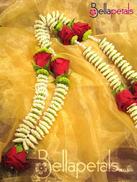 Thai Wedding Flower Garland With Rings