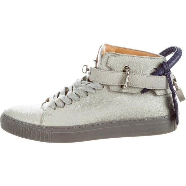 Pre-owned - Leather trainers Buscemi mhVw5ZWZr