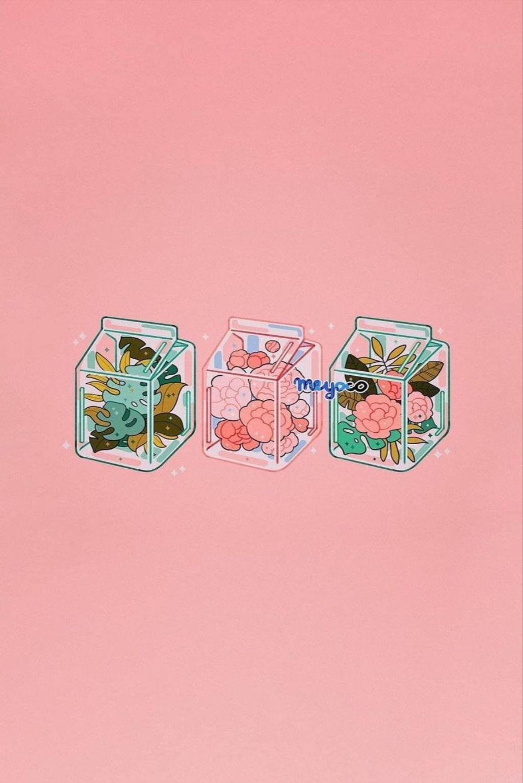 Tumblr pink aesthetic iphone wallpaper