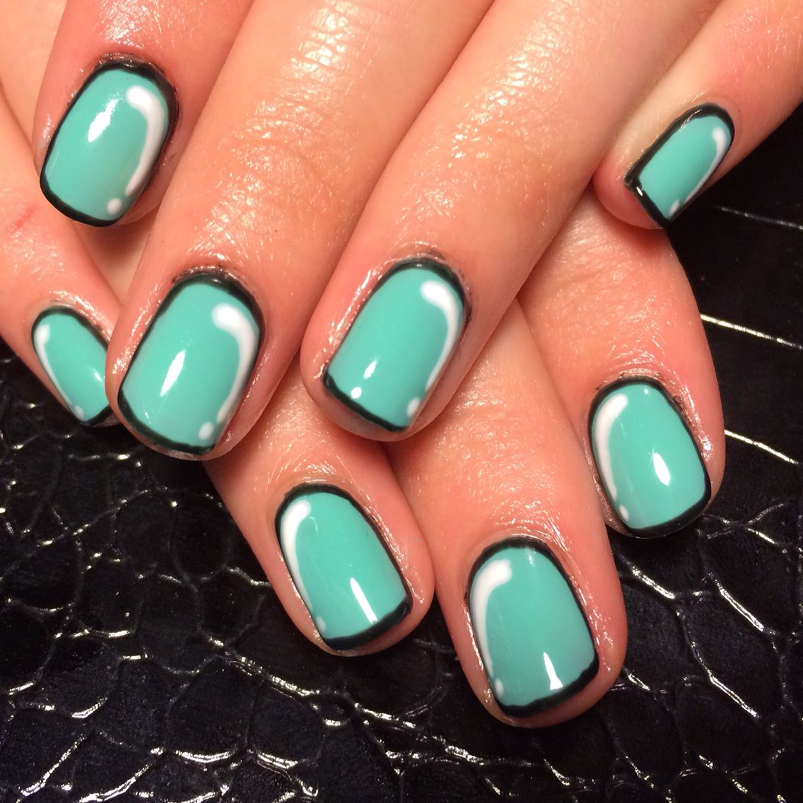 Gelish gel polish nails by Celeste Young | Nails by Celeste Young ...