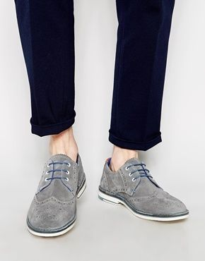 02056ad69 Ted Baker Jamfro Suede Brogue Shoes