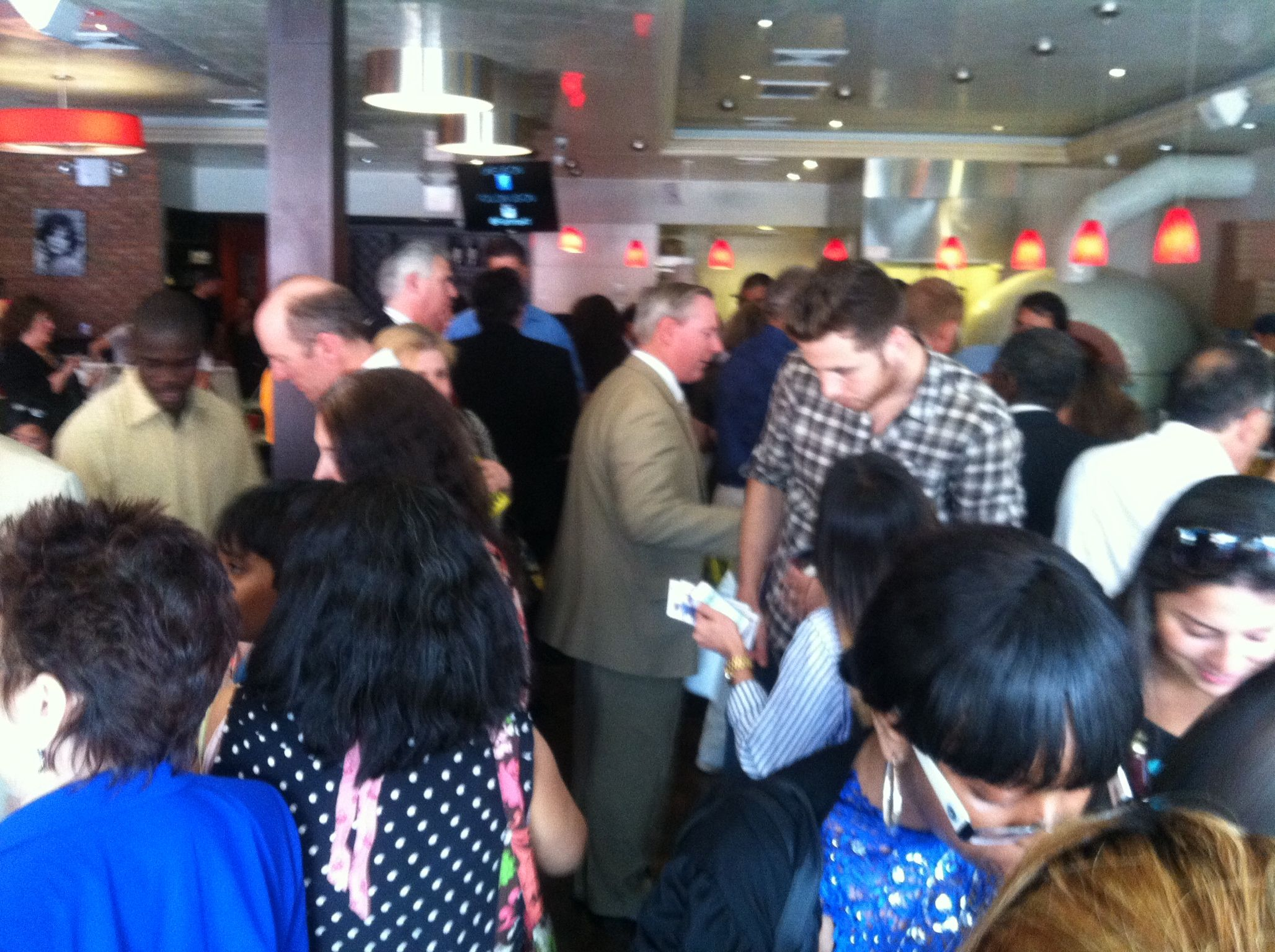 July 17, 2014 -  at Fiamma41, Bayside,NY Networking with Queens Chamber and BBA