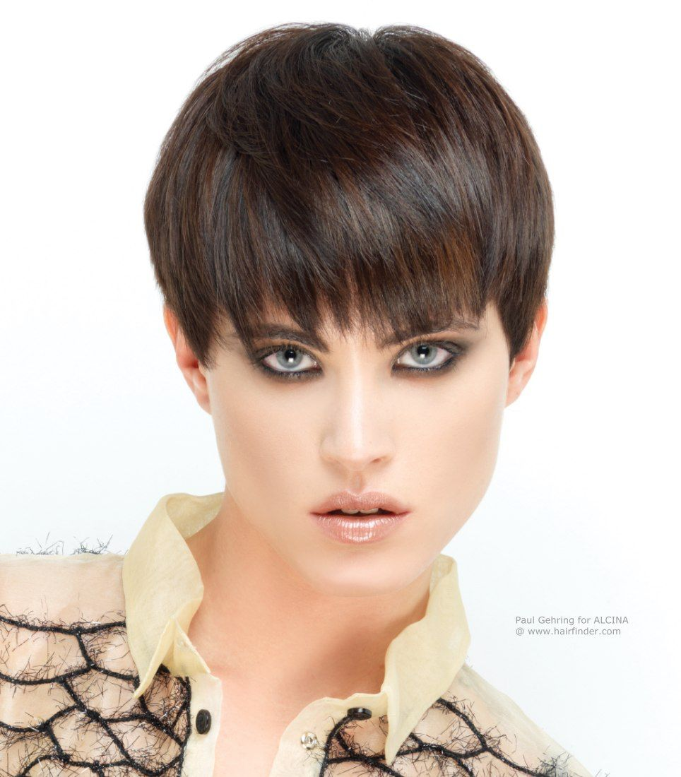 Image From Httphairfinderhairstyles11pixie Long Fringe