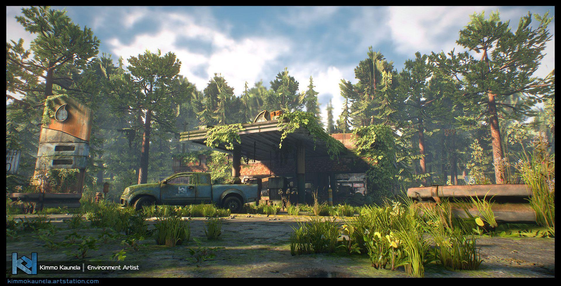 ArtStation - The Last Stop - Unreal Engine 4, Kimmo Kaunela | post