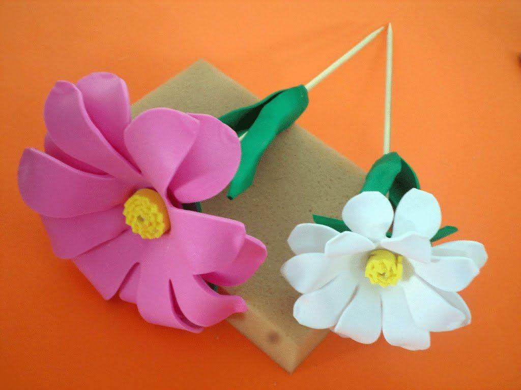 flores manuais de eva - Pesquisa Google