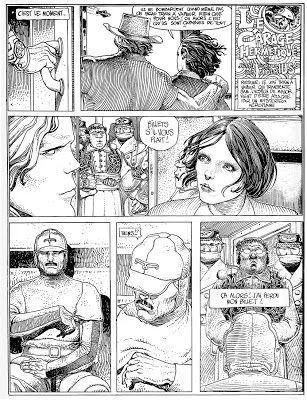 the hunting of the snark: Moebius & The Airtight Garage: No.1 … I Ink Therefore I am