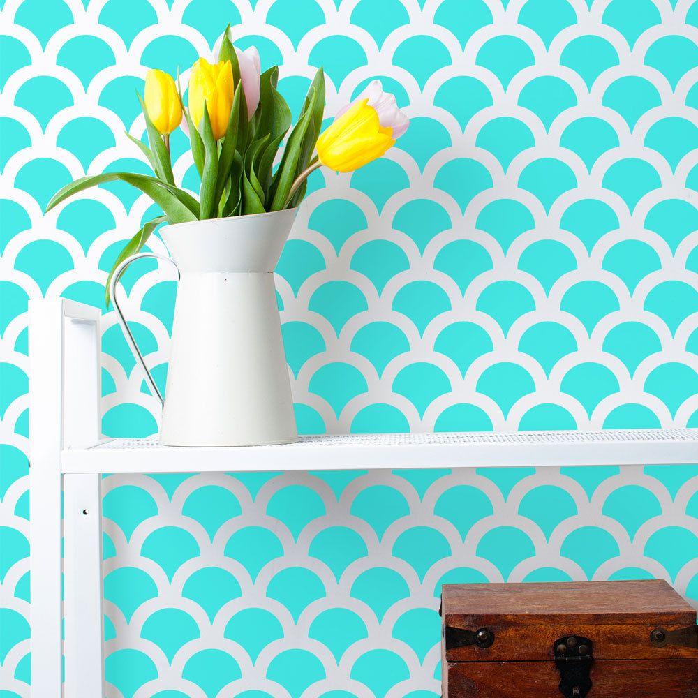 Pintar paredes lisas good decora tus paredes con - Rodillos para pintar paredes lisas ...